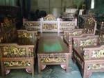 Set Kursi Tamu Madur Ukir Mahkota Kode ( KKS 683 )