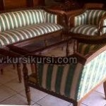 Set Kursi Tamu Sofa Seraton Kayu Jati