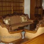 Set Kursi Tamu Sofa Ukir Romawi Jepara