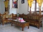 Set Kursi Tamu Sudut Mawar Mahkota Jepara Kode ( KKS 764 )