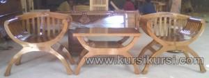 Set Kursi Teras Yuyu Dengan Sandaran