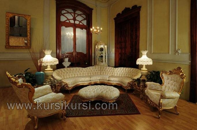 Set Sofa Brontosaurus Furniture Kayu Jepara