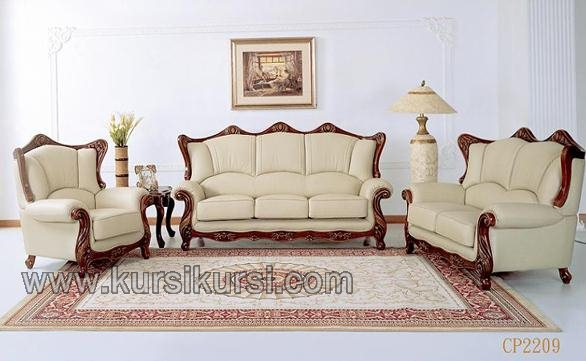 Set Sofa Kursi Tamu Kayu Furniture Jepara