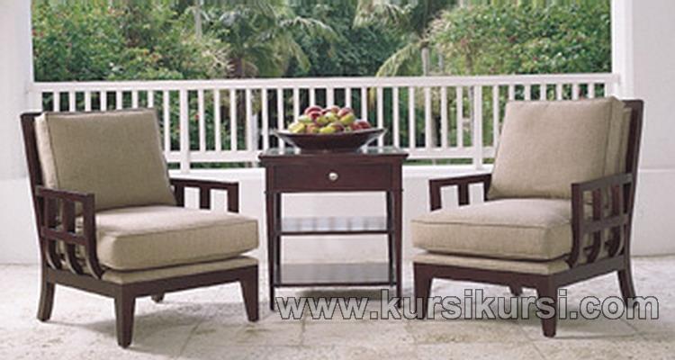 Set Sofa Kursi Teras Kayu Jati