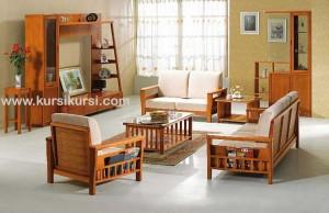 Kursi Tamu Jati Minimalis Bagus Untuk Ruang Tamu