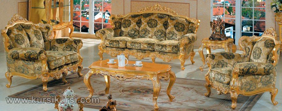 Furniture Emas Sofa Ukir Jepara