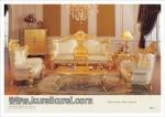 Furniture Klasik Mewah Ukiran Sofa Gaya Eropa Kode ( KKS 073 )