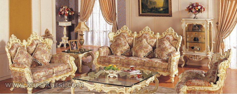 Furniture Kursi Tamu Mewah Jepara