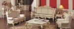 Furniture Mewah Kursi Set Duco Putih Tulang Kode ( KKS 076 )