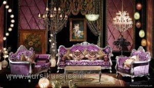 Furniture Mewah Sofa Tamu Eropa France
