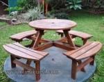 Furniture Taman Kayu Jati Jepara Kode ( KKS 081 )