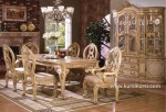 Group Furniture Ruang Makan Set Kursi Makan Ukiran Kode ( KKS 083 )