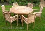Harga Set Kursi Taman Stacking Chair Kode ( KKS 084 )
