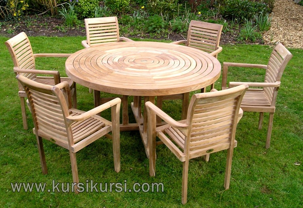 Harga Set Kursi Taman Stacking Chair