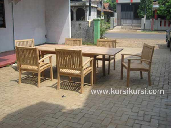 Kursi Garden Luar Ruangan Untuk Kafe