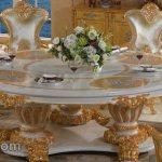 Kursi Makan Mewah Ukrian Jepara Keluarga Besar