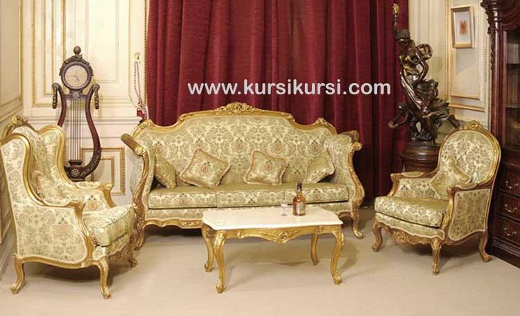 Living Room Sofa Kursi Tamu Mewah Ligra