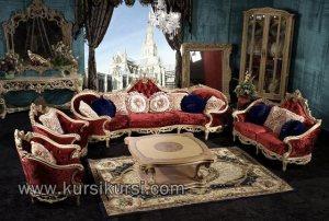 Luxury Sofa Set Kursi Tamu Mewah Terbaru