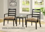 Minimalis Furniture Kursi Teras Jati Kode ( KKS 124 )
