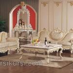 Model Kursi Sofa Duco Putih Terbaru Jepara