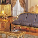 Model Sofa Jepara Finishing Gold