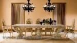 Royal Furniture Kursi Makan Mewah Duco Putih Kode ( KKS 975 )