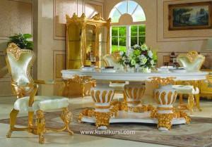 Royal Klasik Furniture Kursi Makan Mewah