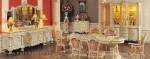Set Ruang Makan Ukiran Kayu Duco Putih Kode ( KKS 983 )