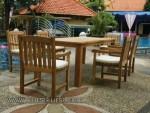 Teak Garden Furniture Jepara Terbaik Kode ( KKS 995 )