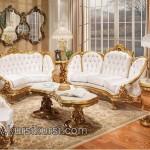 Victorian Living Kursi Tamu Sofa Mewah