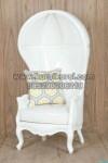 Kursi Balon Putih Bersih