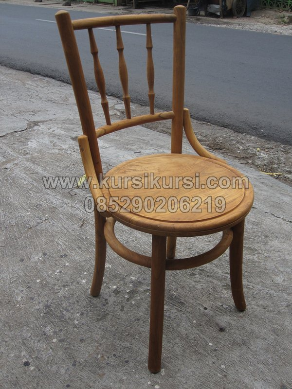 Kursi Kopitiam Kafe Kayu Jati KRS 211