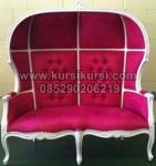 Kursi Pengantin Kerodong Pink