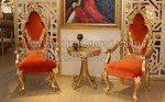 Classic Chair Furniture Gold Jepara