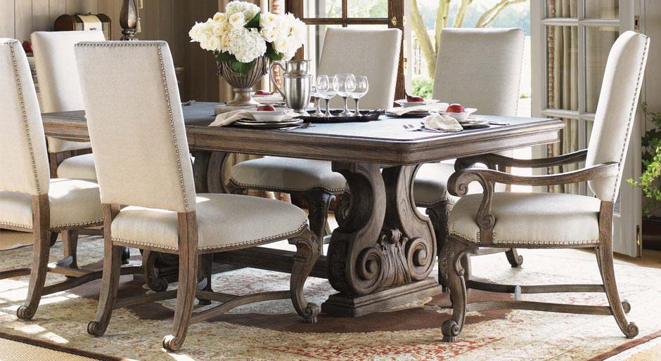 Kursi Makan Mewah Mahogany Furniture