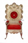 Kursi Pengantin Golden Wedding Brass Chair