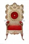 Kursi Pengantin Golden Wedding Brass Chair