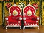 Kursi Pengantin Indian Wedding Stage