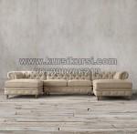 Kursi Sofa Full Jok Leter U KKW 659