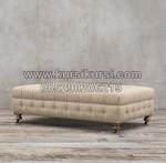Kursi Sofa Full Jok Tanpa Sandaran KKW 677