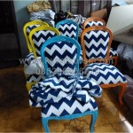 Model Kursi Makan Ready Stock Jok Zig Zag
