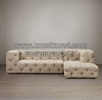 Modern Minimalis Kursi Sofa Full Jok KKW 691