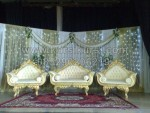 Modern Wedding Gold Sofas KKW 351
