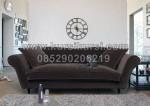 Neo Classic Wedding Sofa Dark Brown KKW 355