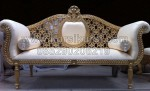 Ornate Wedding Sofa Ukiran Lubang KKW 357