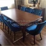 Set Kursi Makan Sofa Mewah