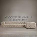 Set Sofa Sudut Kursi Sofa Full Jok KKW 703