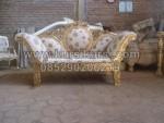 Sofa Kursi Pengantin Gold KKW 383