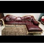 Sofa Sudut Model Klasik Jepara