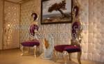 Upin dan Ipin Kursi Kursi dari Jepara